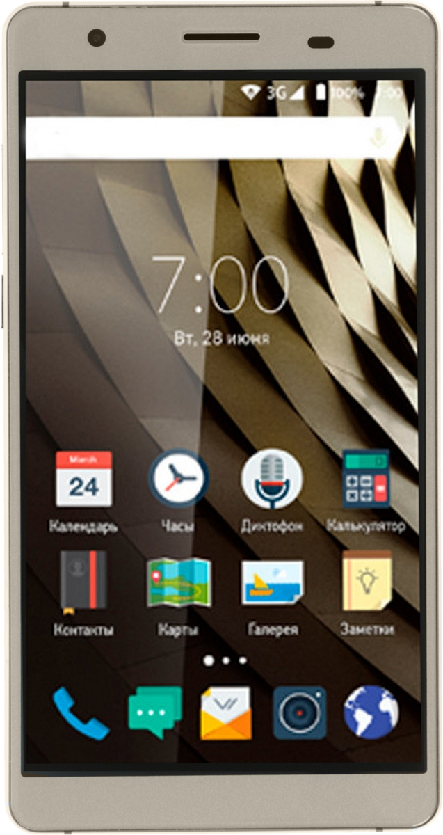 Vertex Impress Ra 4G, Gold - Смартфоны