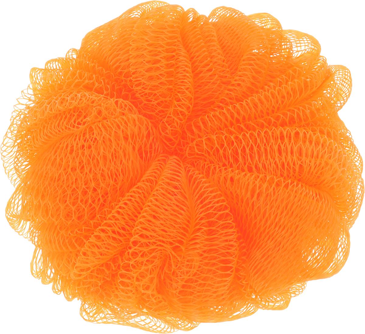 Мочалка Paterra, цвет: оранжевый, 14 см408-061_оранжевыйПодарит чистоту и блаженство вашей коже! Благодаря своей структуре мочалка-шар обеспечивает отличное пенообразование, тем самым экономя средства для душа, долго прослужит и подойдет для ежедневного использования.