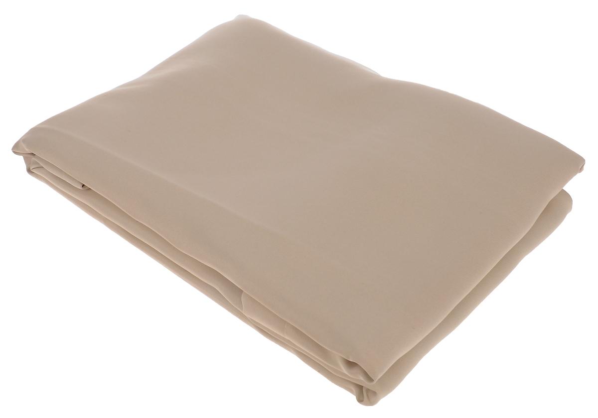 Портьера Amore Mio Блэкаут, на ленте, цвет: бежевый, высота 270 см. 8516585165Портьера Amore Mio - плотная, гладкая, мягкая ткань с деликатным сатиновымблеском. Эти портьеры не пропускают солнечный свет и будут идеальнымрешением для домашнего кинотеатра и спальни. Изготовлены из 100% полиэстера. Полиэстер - вид ткани, состоящий из полиэфирных волокон. Ткани из полиэстералегкие, прочные и износостойкие. Такие изделия не требуют специальногоухода, не пылятся и почти не мнутся. Крепление к карнизу осуществляется при помощи вшитой шторной ленты.