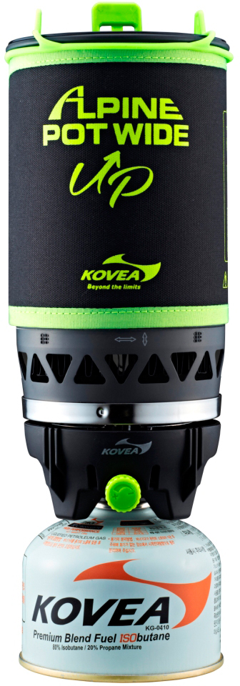Горелка газовая Kovea Alpin Pot WIDE KGB-0703WU горелка kovea alpin pot wide kb 0703w