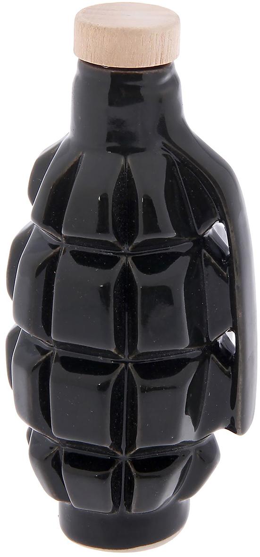 Штоф Керамика ручной работы Граната Ф1, 100 мл. 23486612348661Сосуд изготовлен из керамики - прочного материала, способного сохранять температуру жидкости до 4 часов. Он предназначен для хранения вина, водки, коньяка и настойки. На праздничном ужине такая подача алкоголя приятно удивит ваших гостей. Кроме этого, сувенир может стать отличным подарком для ценителей качественных спиртных напитков.