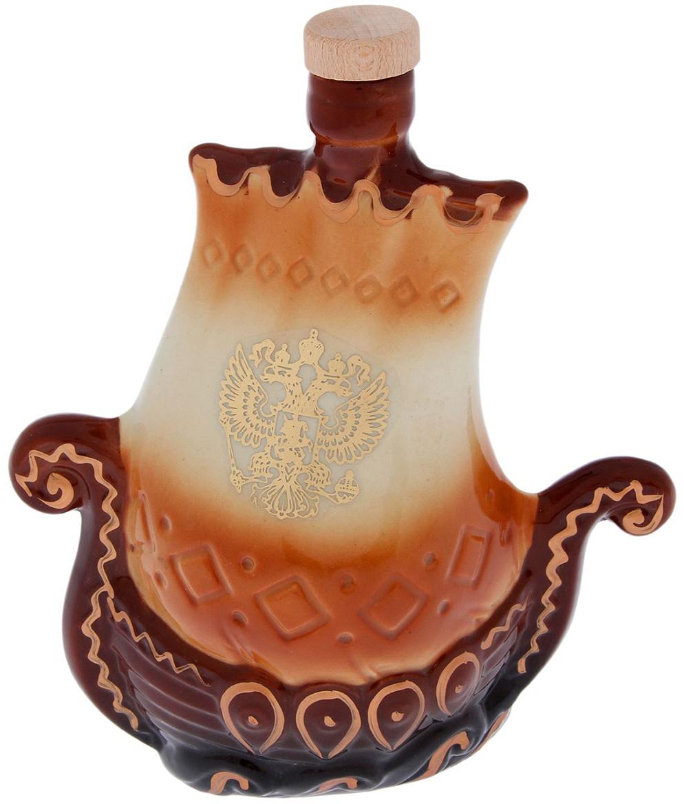 Штоф Керамика ручной работы  Садко , 300 мл. 2174442 - Туристическая посуда