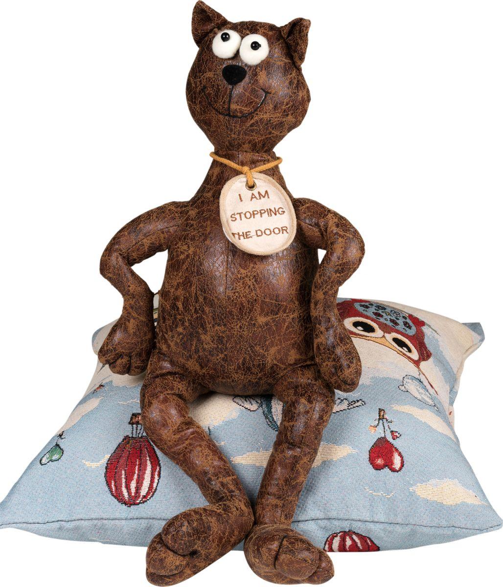 Фигурка-стоппер интерьерная Estro КотТ12248ВИнтерьерная игрушка ESTRO ручной работы - это тепло, подаренное мастером. Кот интерьерный стоппер.