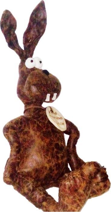 Фигурка-стоппер интерьерная Estro ЗаяцТ12248СИнтерьерная игрушка ESTRO ручной работы - это тепло, подаренное мастером. Заяц интерьерный, стоппер