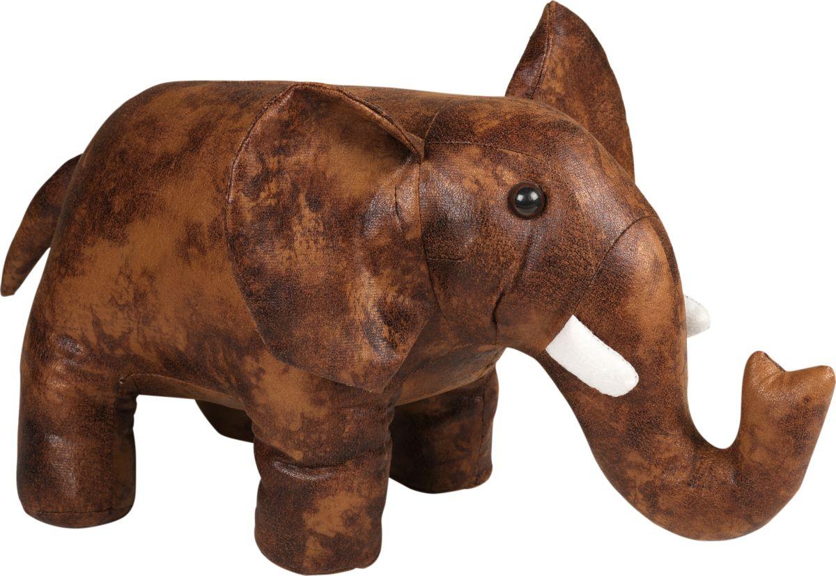Фигурка-стоппер интерьерная Estro СлонТ14323Интерьерная игрушка ESTRO ручной работы - это тепло, подаренное мастером. Слон интерьерный, стоппер
