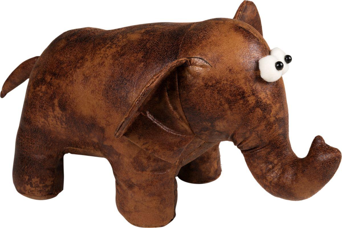 Фигурка-стоппер интерьерная Estro СлоникТ15116Интерьерная игрушка ESTRO ручной работы - это тепло, подаренное мастером. Щенок интерьерный, стоппер