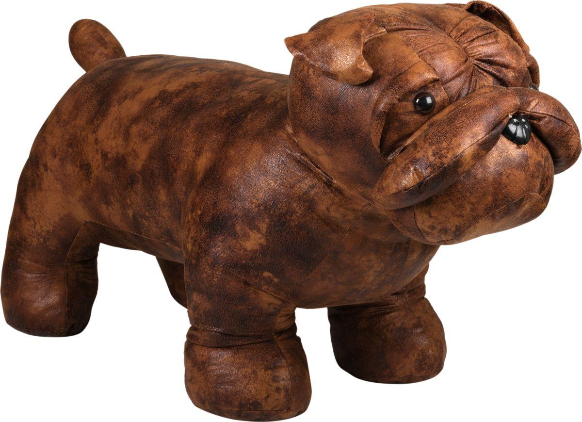 Пуф Estro БульдогТ15238-1Интерьерная игрушка ESTRO ручной работы - Пуф Бульдог выдерживает нагрузку до 120 кг.