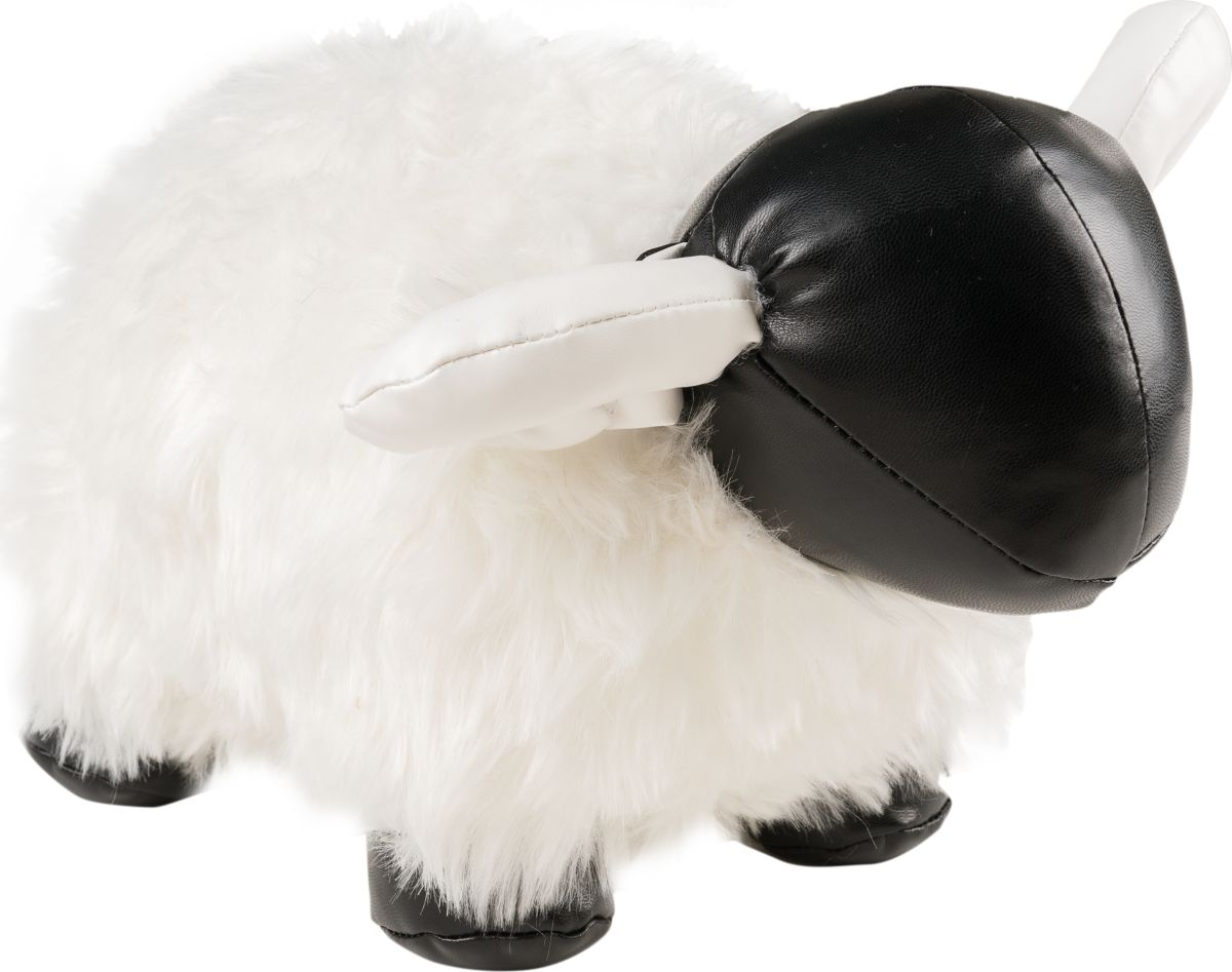 Фигурка-стоппер интерьерная Estro ОвечкаТ16245Интерьерная игрушка ESTRO ручной работы - это тепло, подаренное мастером. Овечка интерьерная, стоппер