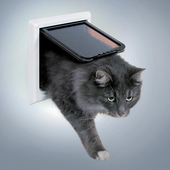 Дверца для кошки Trixie De Luxe, цвет: белый38641Многие кошки сталкиваются с проблемой выхода на улицу. Дверь поможет решить эту проблему. Дверь легко монтируется во входную дверь.- Прозрачная, тихого действия.- С замком безопасности. - Прозрачная створка, бесшумно открывается и закрывается. - Со специальным уплотнителем и магнитной защёлкой. - С блокировкой. - В комплект входят два элемента тоннеля. - Глубина: 19-65 мм. - Глубина может увеличиваться с помощью дополнительных элементов. - Внешний размер: 21 х 21 см. - Внутренний размер: 16,2 х 17 см. - Размер люка: 14,7 х 15,8 см. - 3 года гарантии.