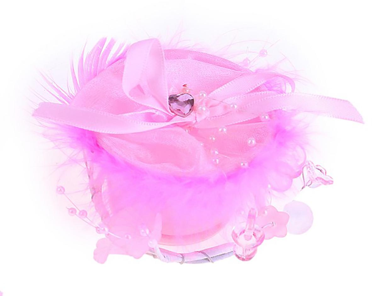 Подсвечник декоративный Нежные чувства, цвет розовый, 19 х 10,5 х 7 см, 2 шт108531Любой интерьер нуждается в дополнительных аксессуарах, так как они придают ему уютный завершенный вид. Простой и милый декоративный элемент сделает атмосферу душевной и располагающей к отдыху.