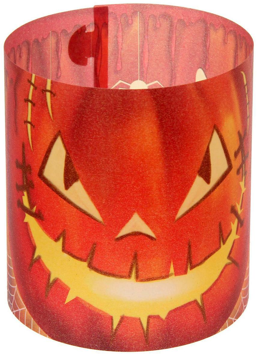 Набор подсвечников Зловещий Джек, цвет: красный, 29,7 х 10 х 0,1 см, 3 шт1356809Декоративный бумажный подсвечник — простой и оригинальный сувенир, который обязательно порадует своего обладателя. Он привнесет частичку красоты, тепла и уюта в любой интерьер. Оберните свечки в эти яркие полоски, и таинственное сияние наполнит дом.В набор входит 3 листа с эксклюзивными изображениями. Сверните заготовку трубочкой, и подсвечник готов.Использовать с малыми свечами в металлической гильзе.