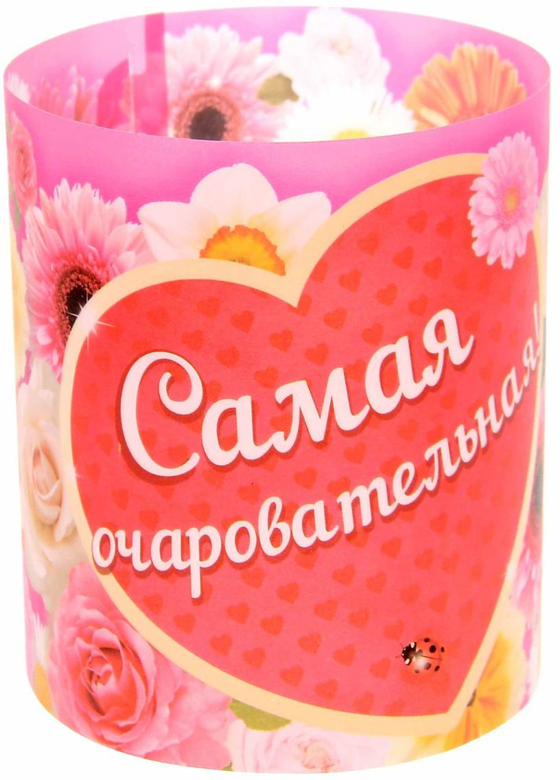 Набор подсвечников С днем рождения!, цвет: розовый, красный, 29,7 х 10 х 0,1 см, 3 шт1129932Декоративный бумажный подсвечник простой и оригинальный сувенир, который обязательно порадует своего обладателя. Набор подсвечников С днем рождения!, 3 шт. привнесет частичку красоты, тепла и уюта в любой интерьер. При свете дня яркий конус будет выполнять функцию декоративной подставки или корзинки, а в темноте поставьте в него свечу и создайте волшебное мягкое свечение.В набор входит 3 листа в эксклюзивном дизайне. Сверните заготовку трубочкой, и подсвечник готов.Используйте его с малыми свечами в металлической гильзе.