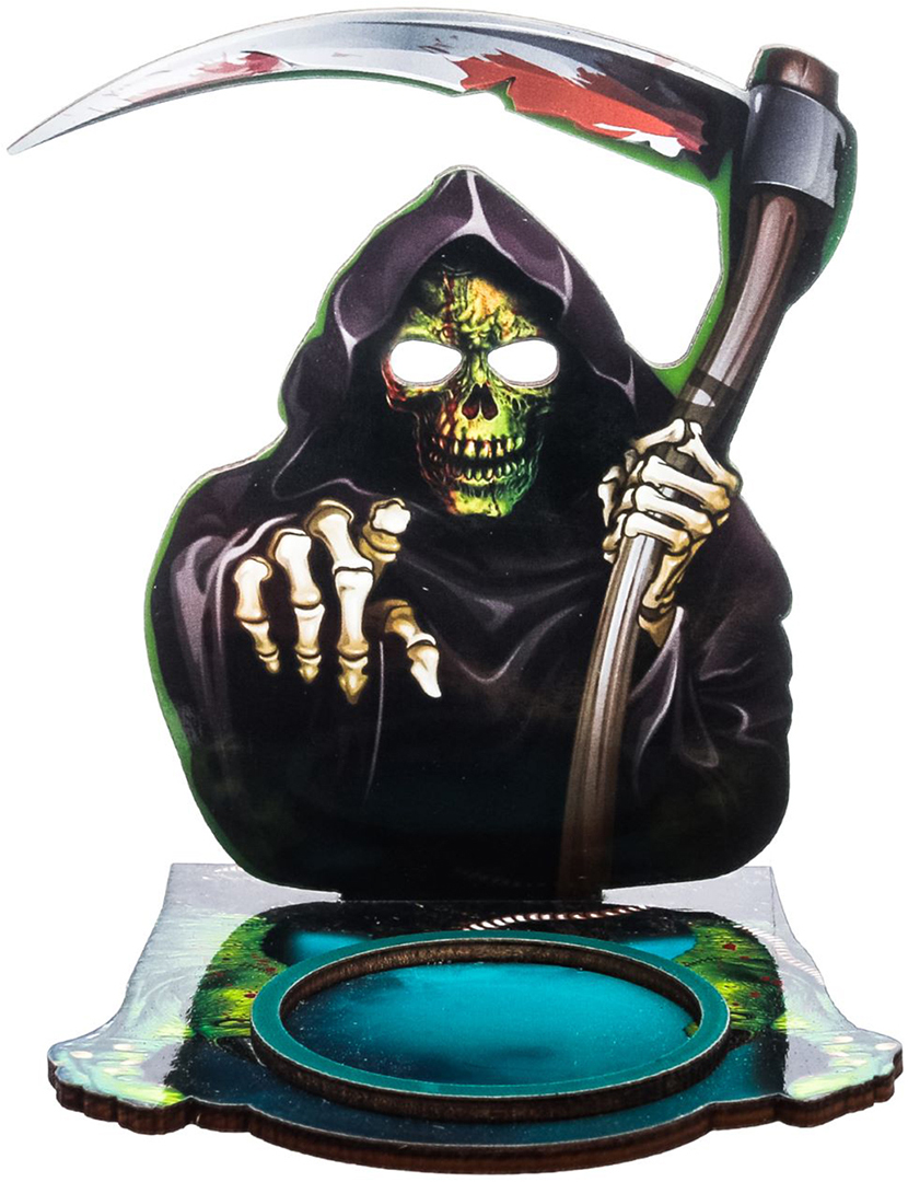 Подсвечник Halloween, цвет: черный, голубой, 9,7 х 0,6 х 9 см2433971Хэллоуин — это маскарад, карнавал, веселая игра. Чтобы вы целиком погрузились в празднование самой страшной ночи в году, мы подготовили серию подсвечников для оформления интерьера, которые не оставят равнодушными окружающих.Яркий дизайн, оригинальные рисунки, плотная бумага и фанера — вот отличительные черты наших украшений.Поставьте аксессуар с горящей свечой к стене и получите на ней проекцию картинки.Поставляется в пакете с ярким дизайнерским клапаном.