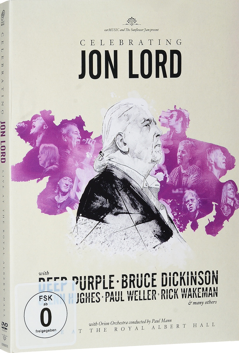 Celebrating Jon Lord (2 DVD) rick wakeman rick wakeman the myths and legends of king arthur and the knights of the round table