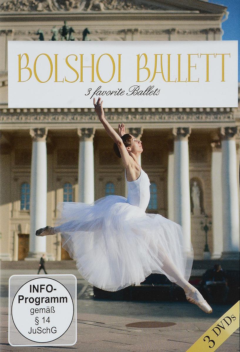 Bolshoi Ballet: Three Favorite Ballets (3 DVD) bolshoi confidential