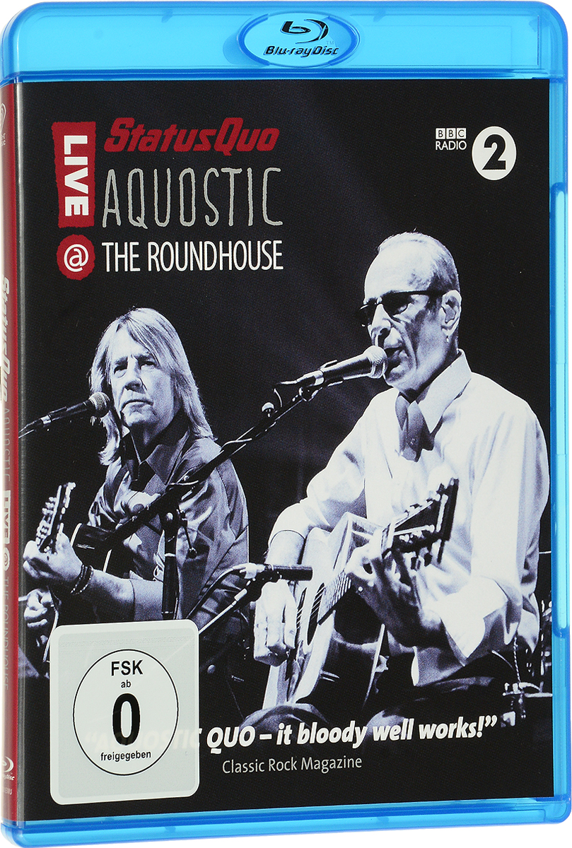 Status Quo: Aquostic! Live At The Roundhouse (Blu-ray) status quo pictures live at montreux 2009 blu ray