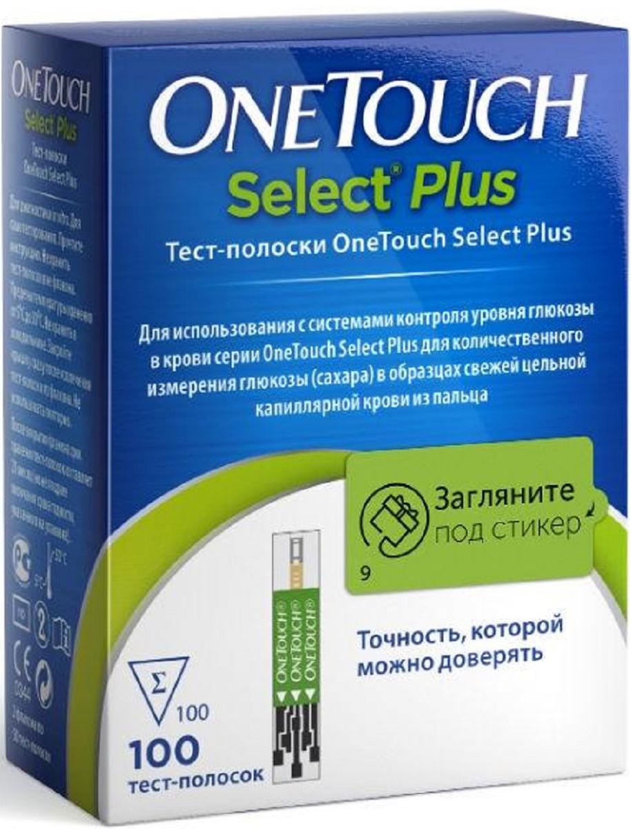 OneTouch Тест-полоски Select Plus №100 - Аптека