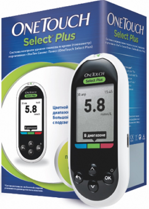 OneTouch Глюкометр Select Plus