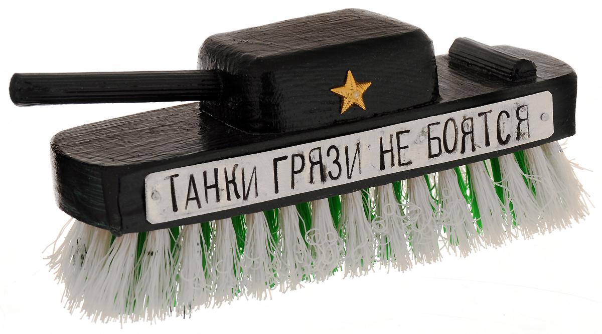 Щетка для одежды Бюро находок Танк, цвет: темно-зеленый рюмки бюро находок рюмка сними напряжение