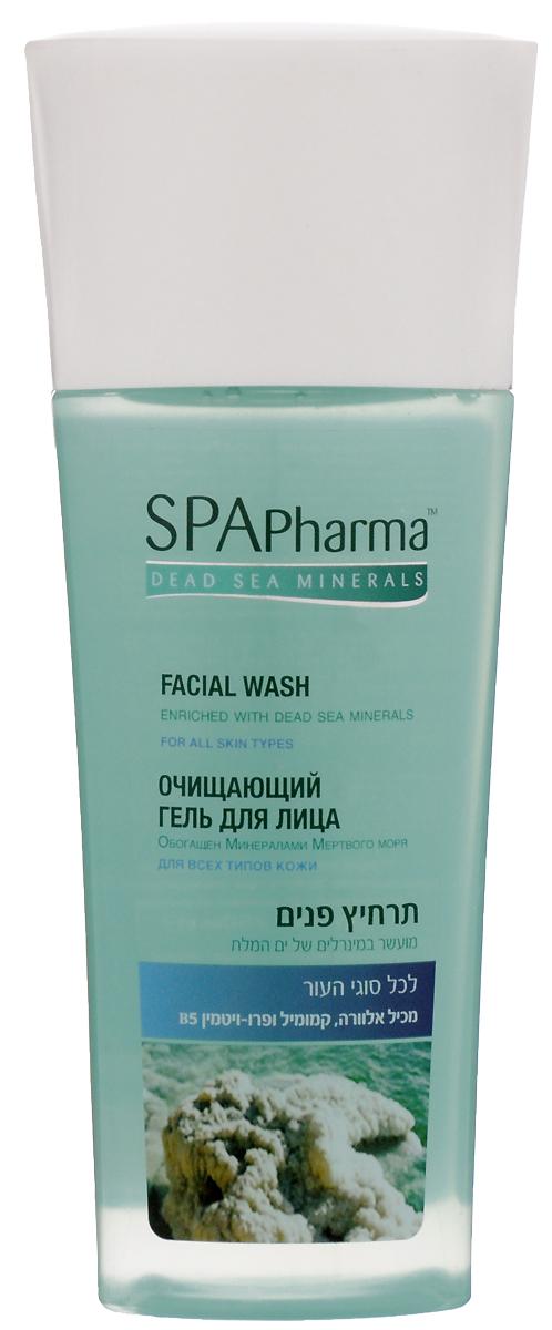 Spa Pharma Очищающий гель для умывания для всех типов кожи, Spa Pharma 235 мл spa pharma минеральный шампунь для сухих и поврежденных волос spa pharma 500 мл