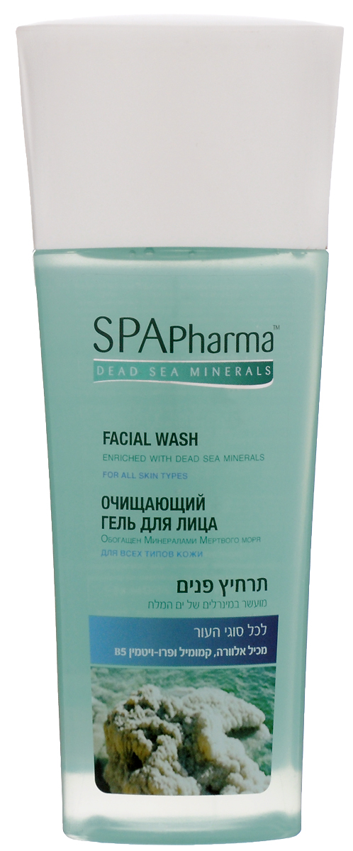 Spa Pharma Очищающий гель для умывания для всех типов кожи, Spa Pharma 235 мл ge pharma jetfire в одессе