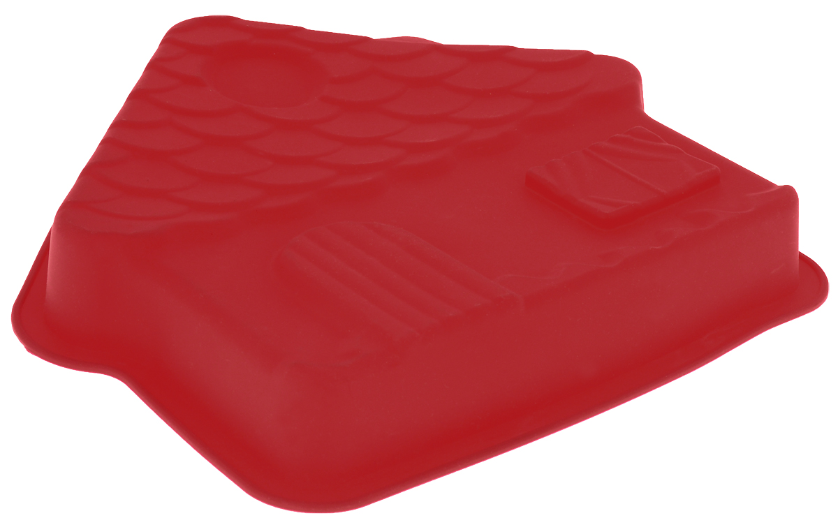 """Форма для выпечки Доляна """"Фасад"""" из силикона - современное решение для практичных и   радушных хозяек. Оригинальный предмет позволяет готовить в духовке любимые блюда из мяса,   рыбы, птицы и овощей, а также вкуснейшую выпечку.   - Блюдо сохраняет нужную форму и легко отделяется от стенок после приготовления; - высокая термостойкость (от -40 до 230) позволяет применять форму в духовых шкафах и   морозильных камерах;  - небольшая масса делает эксплуатацию предмета простой даже для хрупкой женщины;  - силикон пригоден для посудомоечных машин;  - высокопрочный материал делает форму долговечным инструментом;  - при хранении предмет занимает мало места.  Использование:  Перед первым применением промойте предмет теплой водой. В процессе приготовления используйте кухонный инструмент из дерева, пластика или силикона.   Перед извлечением блюда из силиконовой формы дайте ему немного остыть, осторожно   отогните края предмета.     Как выбрать форму для выпечки – статья на OZON Гид."""