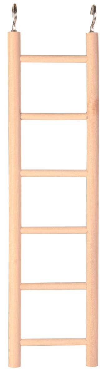 Лестница для попугая Trixie, 6 ступенек, 28 см5813- дерево