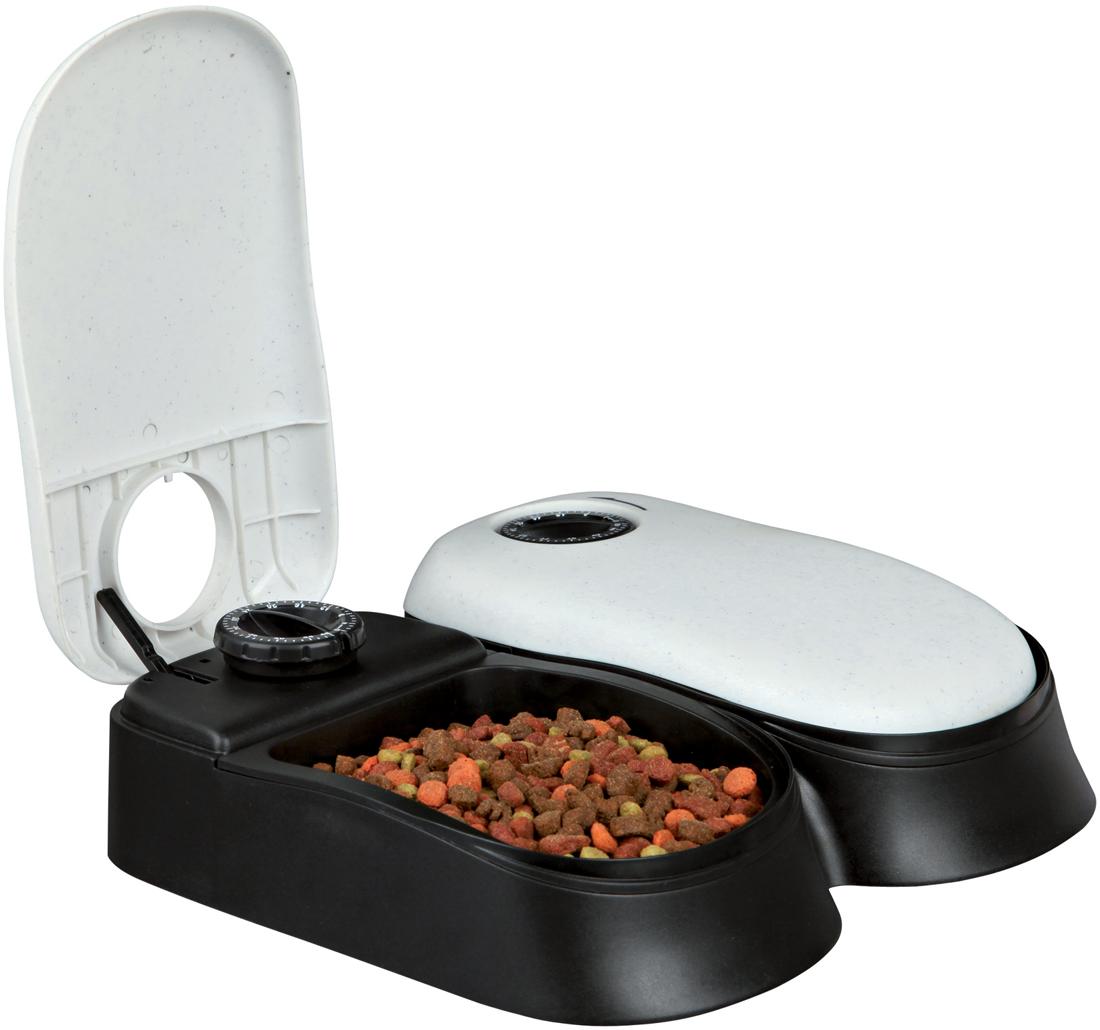 Кормушка автоматическая  Trixie , на два кормления TX 2, 30 х 24 х 7 см - Аксессуары для кормления