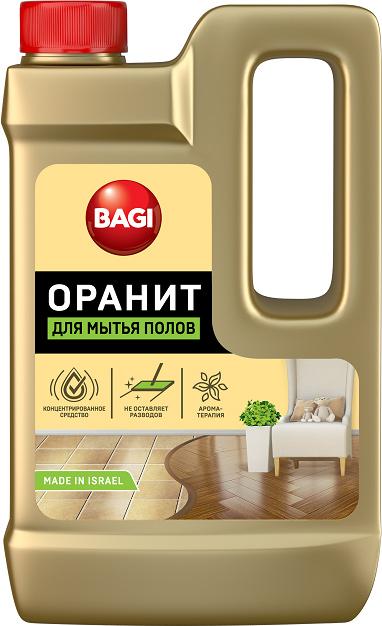 Средство для мытья полов Bagi Оранит, 550 мл средство для чистки изделий из дерева bagi раитит 3 л