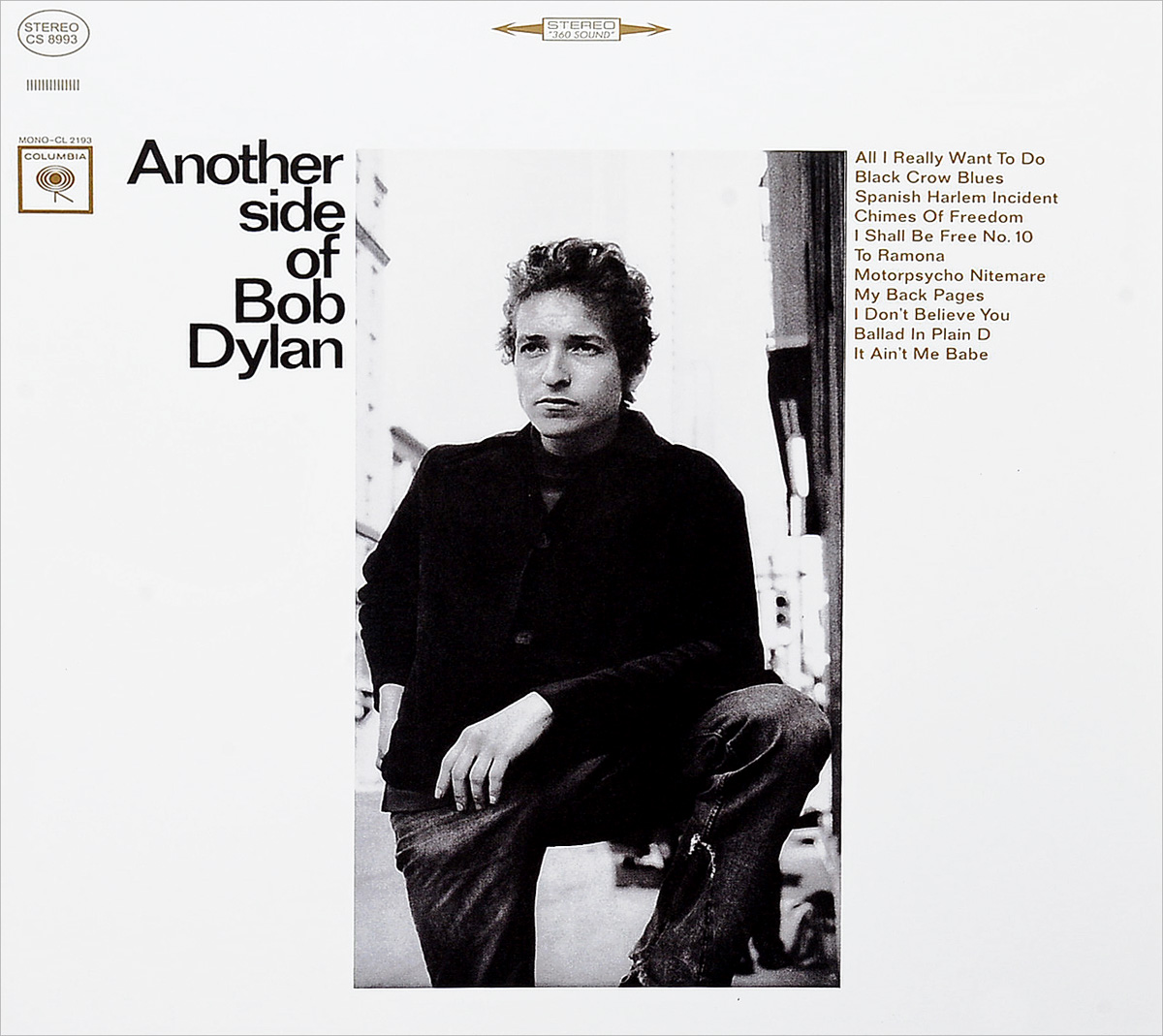 Боб Дилан Bob Dylan. Another Side Of Bob Dylan (LP) бейсболка cayler