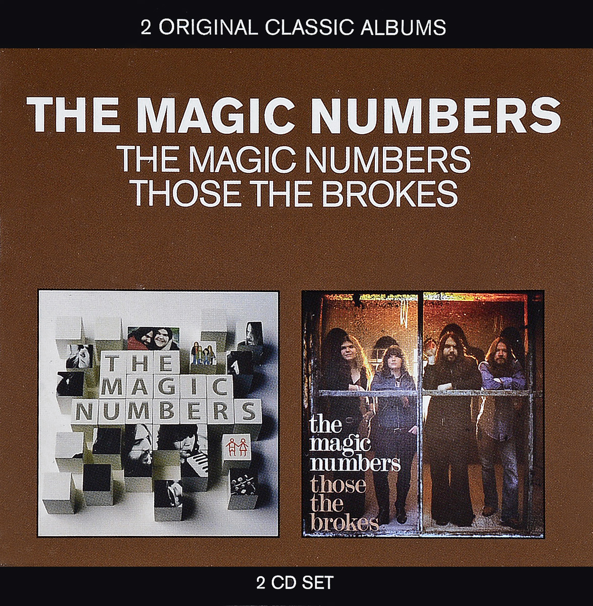 The Magic Numbers The Magic Numbers - 2 Original Classic Albums. The Magic Numbers, Those The Brokes (2CD) ковер casablanca 24105 berber 1600х2300мм