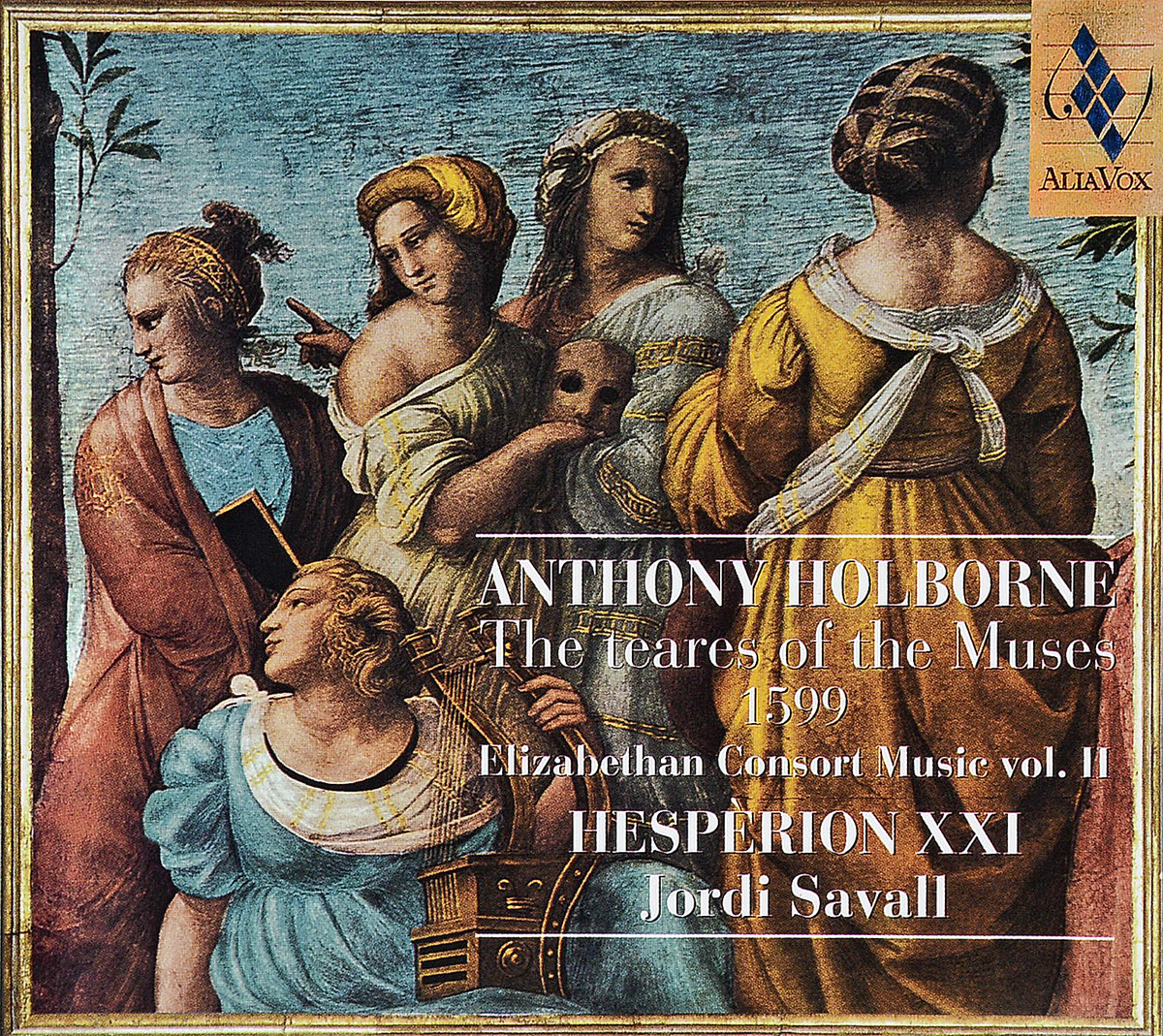 Zakazat.ru Hesperion XXI, Jordi Savall. Anthony Holborne. The Teares of the Muses