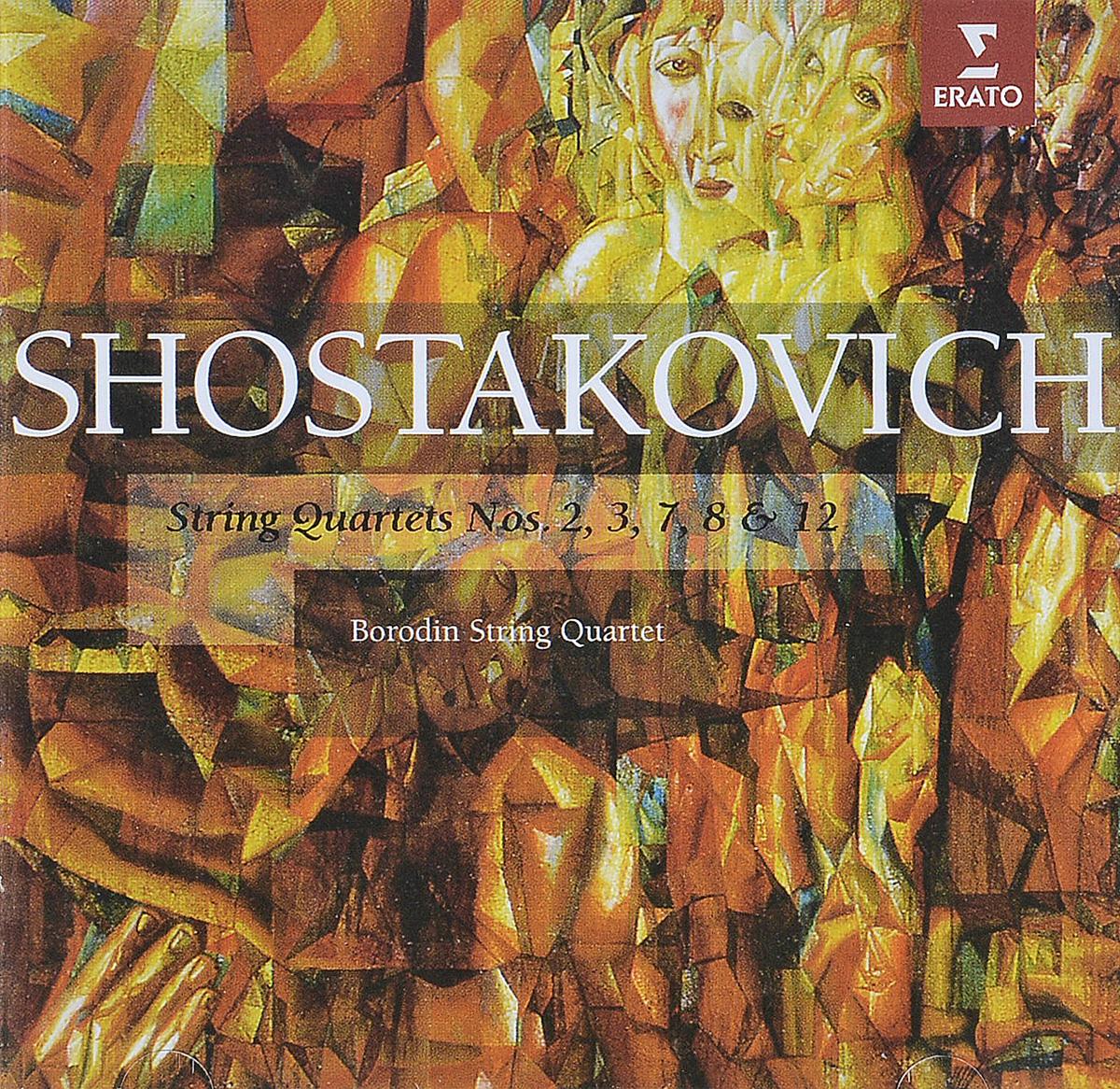 Дмитрий Шостакович Dmitri Shostakovich. Streichquartett Nr.2, 3, 7, 8, 12 (2 CD) spectral classics pl151 bg 2 boxes