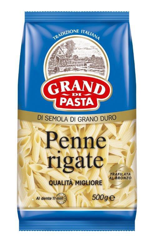 Grand Di Pasta перья пенне, 500 г сушилка для лапши pasta di casa gmj 1