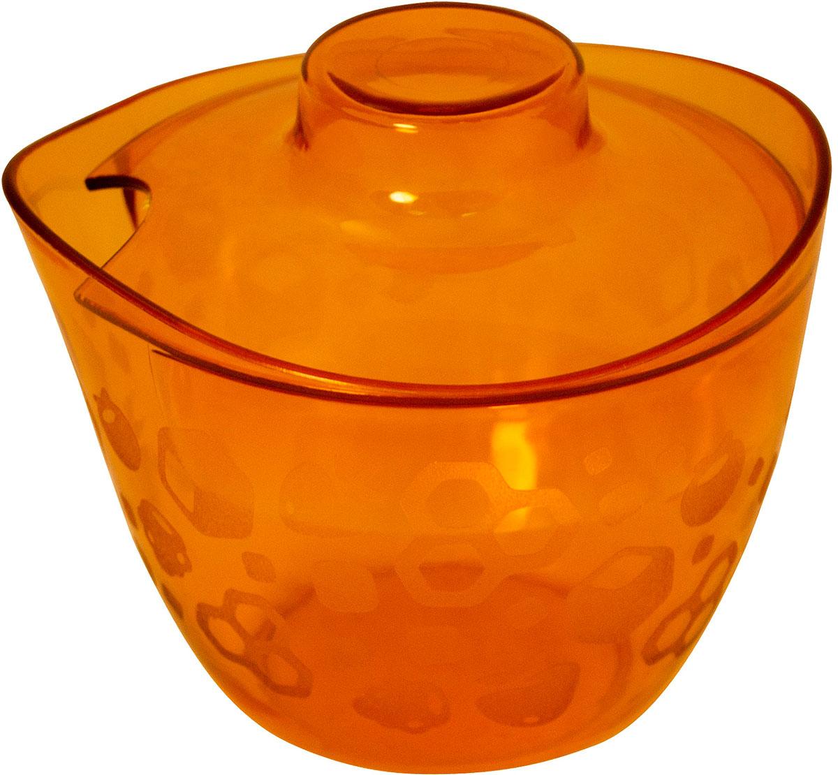 Сахарница Мартика Люмици, цвет: оранжевыйC584Оригинальная современная форма сахарницы позволяет использовать ее какпредмет сервировки стола.Размеры/диаметр: 100 х 93 мм.Высота: 87 мм.Материал: пластмасса.