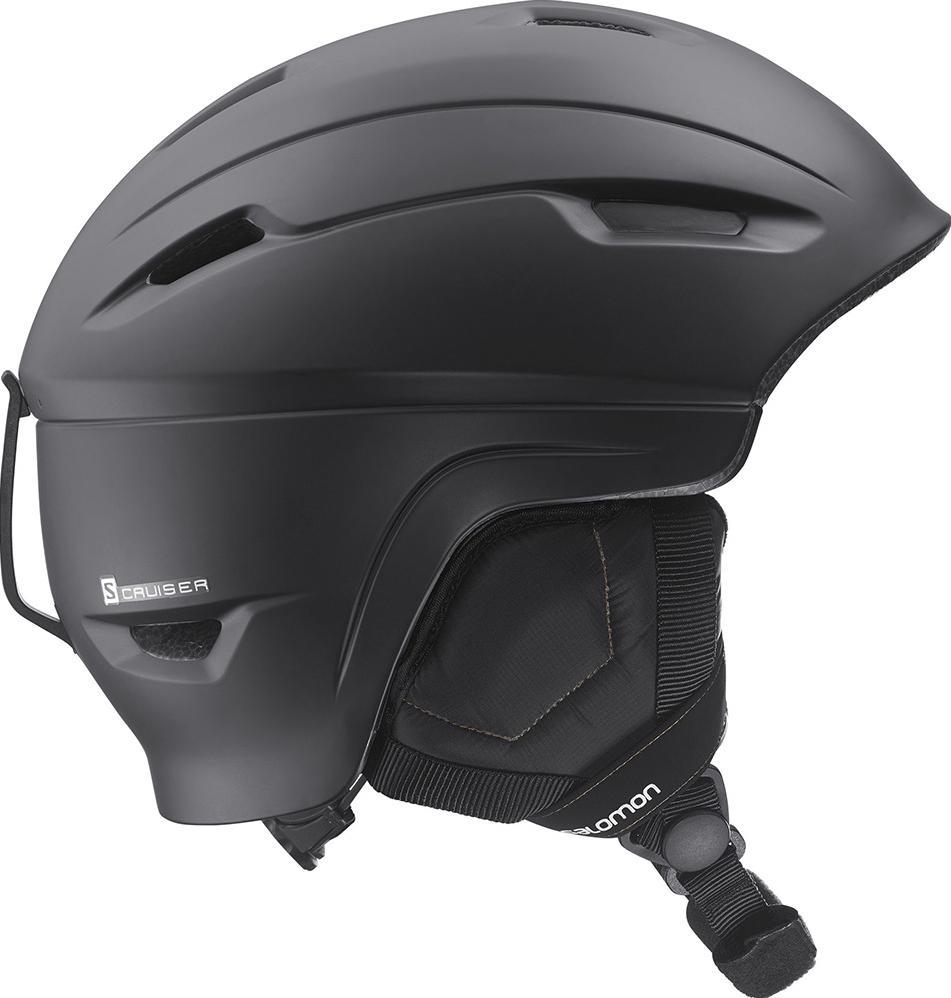Шлем Salomon  Cruiser 4D , цвет: черный. Размер М (56/59 см) - Горные лыжи