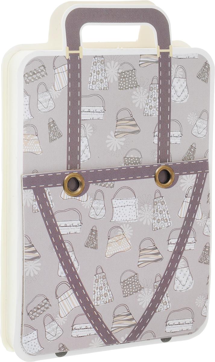Карамба Блокнот Чемодан с рисунком сумки цвет серый 110 листов230EC48Блокнот Карамба Чемодан с рисунком сумки содержит 110 листов в линейку.Блокнот станет достойным аксессуаром среди ваших канцелярских принадлежностей.