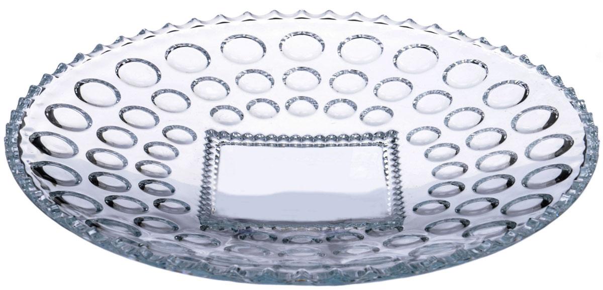 Блюдо Isfahan Glass Семирамис, диаметр 28 см блюдо isfahan mona lisa 29 x 29 см