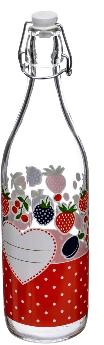 Бутылка Cerve Дафна, 1 лCEM65991Бутылка Cerve Дафна, выполненная из стекла, позволит украсить любую кухню, внесяразнообразие, как в строгий классический стиль, так и в современный кухонный интерьер. Она легка в использовании. Крышка плотно закрывается с помощью металлического зажима-клипсы, дольше сохраняя свежесть продуктов. Крышка оснащена силиконовым уплотнителем.Благодаря этому внутри сохраняется герметичность, и напитки дольше остаются свежими. Оригинальная бутылка будет отлично смотреться на вашей кухне.Диаметр (по верхнему краю): 2,5 см.Диаметр основания: 7,5 см.Высота: 32,5 см.