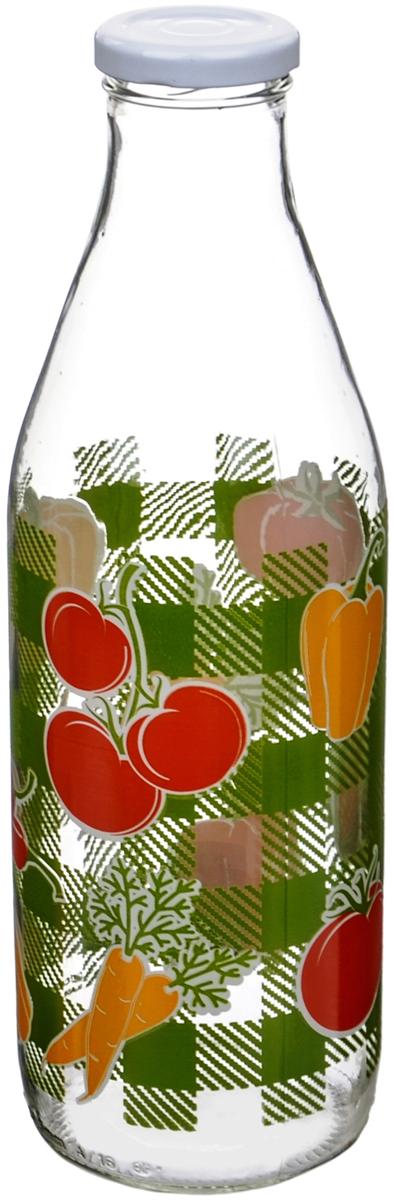 Бутылка Cerve Овощи, 1 лCEM65940Бутылка Cerve Овощи, выполненная из стекла, позволит украсить любую кухню, внеся разнообразие, как в строгий классический стиль, так и в современный кухонный интерьер. Она легка в использовании и оснащена белой винтовой крышкой. Благодаря этомувнутри сохраняется герметичность, и жидкость дольше остается свежей. Стенки бутылкиукрашены изображениями различных овощей. Оригинальная бутылка для жидкостей будетотлично смотреться на вашей кухне. Диаметр (по верхнему краю): 3,5 см. Диаметр основания: 7,5 см. Высота емкости: 26 см.