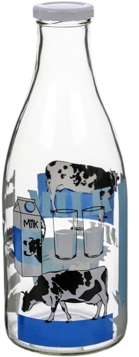 Бутылка Камышин Молоко, с крышкой, 1 лKB127-B43A-1000/43MLСтеклянной посуде всегда найдется применение дома и на даче: банки и бутылки можноиспользовать для консервирования, хранения жидких и сыпучих пищевых продуктов. Толстоепрочное прозрачное стекло российского производства безопасно, гигиенично и функционально.Сочные деколи выдержат многолетнюю эксплуатацию. Стекло не потемнеет и не станет тусклым,рисунок останется ярким и привлекательным.