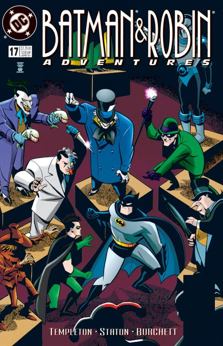 Batman & Robin Adventures: Volume 2 batman volume 1 the court of owls