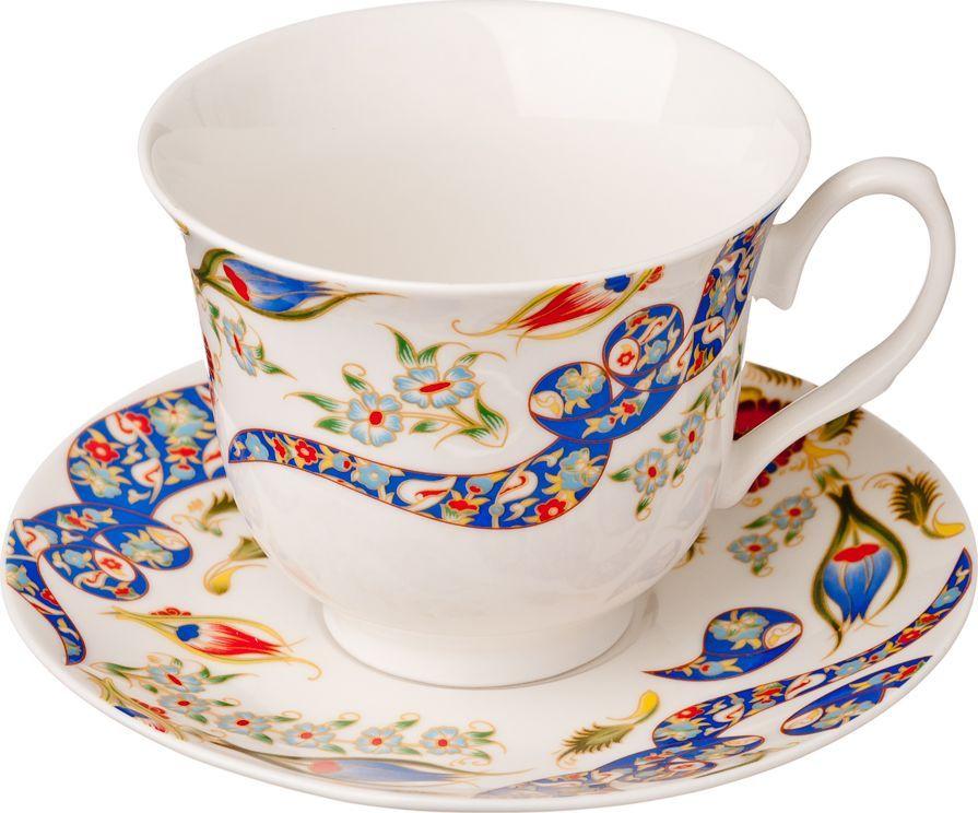 Чайный набор Millimi Илона, 12 предметов821522Чайный набор Millimi Илона состоит из 6 чашек и 6 блюдец, изготовленных из высококачественного костяного фарфора.Такой набор прекрасно дополнит сервировку стола к чаепитию, а также станет замечательным подарком для ваших друзей и близких.
