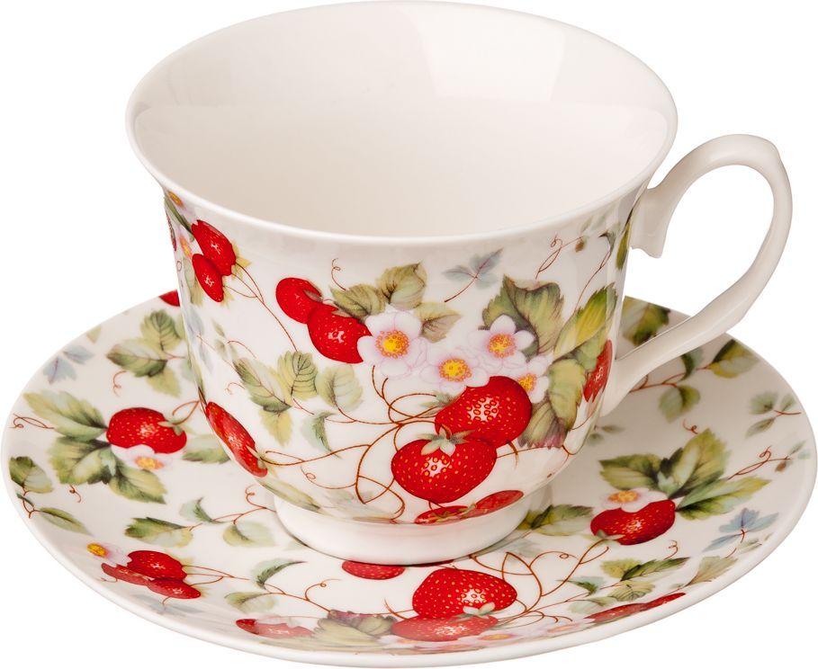 """Чайный набор Millimi """"Земляничная поляна"""" состоит из 6 чашек и 6 блюдец, изготовленных из высококачественного костяного фарфора.Такой набор прекрасно дополнит сервировку стола к чаепитию, а также станет замечательным подарком для ваших друзей и близких."""