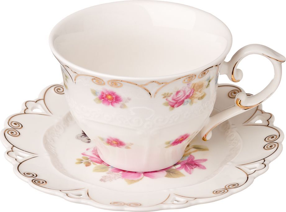 Чайный набор Millimi Цветана, 12 предметов821546Чайный набор Millimi Цветана состоит из 6 чашек и 6 блюдец, изготовленных из высококачественного костяного фарфора.Такой набор прекрасно дополнит сервировку стола к чаепитию, а также станет замечательным подарком для ваших друзей и близких.