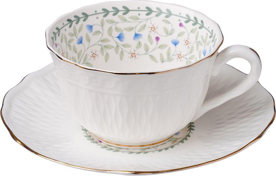 Чайный набор Millimi Болеро, 12 предметов821571Чайный набор Millimi Болеро состоит из 6 чашек и 6 блюдец, изготовленных из высококачественного костяного фарфора.Такой набор прекрасно дополнит сервировку стола к чаепитию, а также станет замечательным подарком для ваших друзей и близких.
