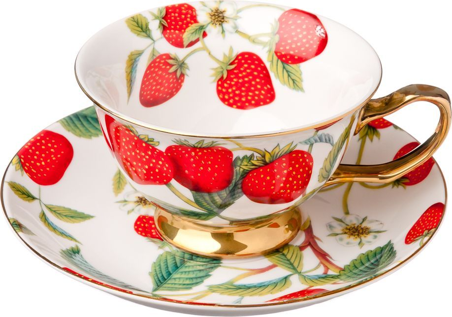 Чайный набор Millimi Земляничный пунш, 12 предметов821612Чайный набор Millimi Земляничный пунш состоит из 6 чашек и 6 блюдец, изготовленных из высококачественного костяного фарфора.Такой набор прекрасно дополнит сервировку стола к чаепитию, а также станет замечательным подарком для ваших друзей и близких.