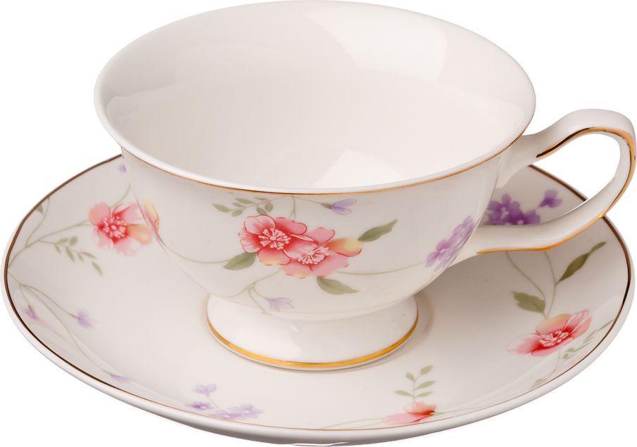 Чайный набор Millimi Беатрис, 12 предметов821615Чайный набор Millimi Беатрис состоит из 6 чашек и 6 блюдец, изготовленных из высококачественного костяного фарфора.Такой набор прекрасно дополнит сервировку стола к чаепитию, а также станет замечательным подарком для ваших друзей и близких.