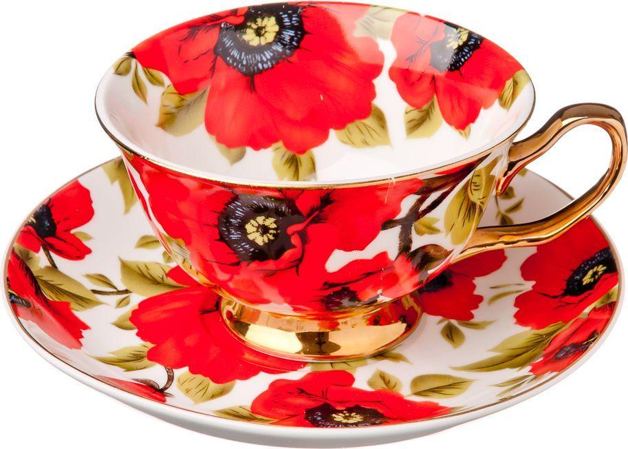 Чайный набор Millimi Вероника, 12 предметов821618Чайный набор Millimi Вероника состоит из 6 чашек и 6 блюдец, изготовленных из высококачественного костяного фарфора.Такой набор прекрасно дополнит сервировку стола к чаепитию, а также станет замечательным подарком для ваших друзей и близких.