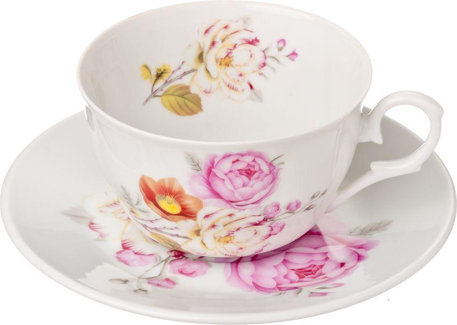 Чайный набор Millimi Интрига, 12 предметов821630Чайный набор Millimi Интрига состоит из 6 чашек и 6 блюдец, изготовленных из высококачественного костяного фарфора.Такой набор прекрасно дополнит сервировку стола к чаепитию, а также станет замечательным подарком для ваших друзей и близких.